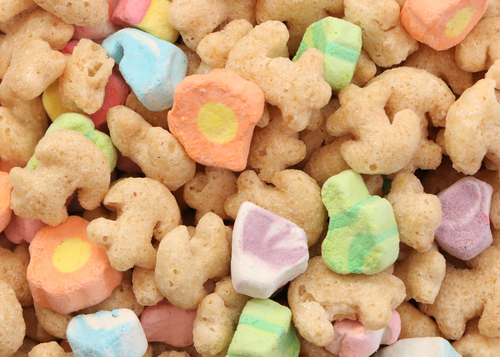 Big are lucky charms bad for you