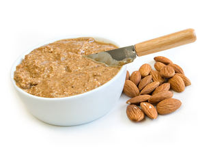 Thumb is almond butter bad for you
