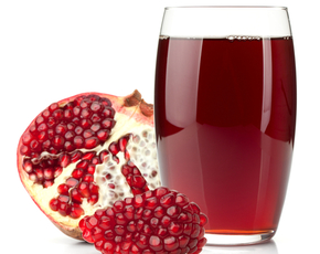 Thumb is pomegranate juice bad for you