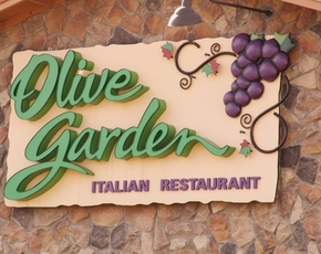 Thumb is olive garden bad for you