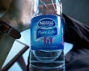 Thumb is nestle water bad for you