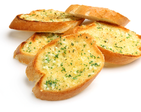 Thumb is garlic bread bad for you