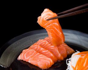 Thumb is sashimi bad for you