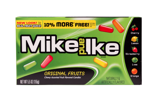 Big are mike and ikes bad for you