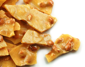 Thumb is peanut brittle bad for you