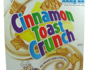 Thumb is cinnamon toast crunch bad for you