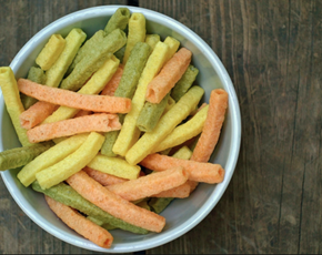Thumb are veggie straws bad for you
