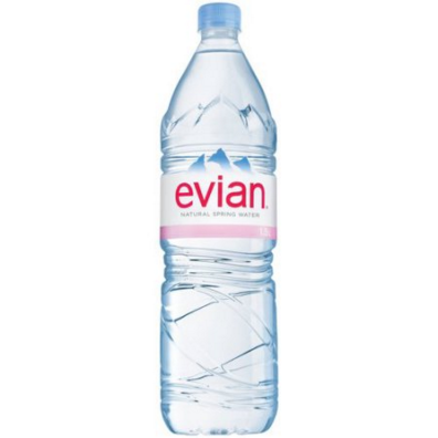 Big is evian water bad for you