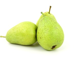 Thumb are pears bad for you.