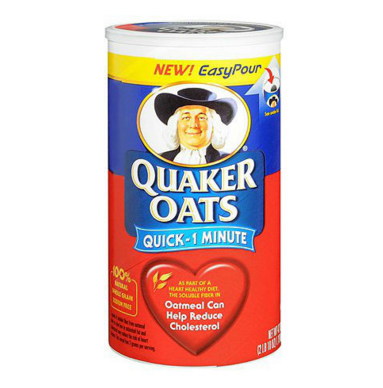 Big is quaker oats oatmeal bad for you