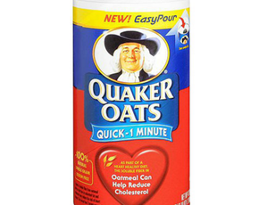 Thumb is quaker oats oatmeal bad for you