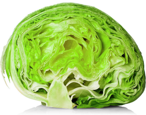 Thumb is iceberg lettuce bad for you