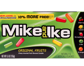 Thumb are mike and ikes vegan