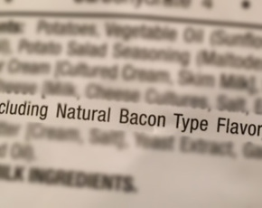 Thumb is natural bacon type flavor bad for you