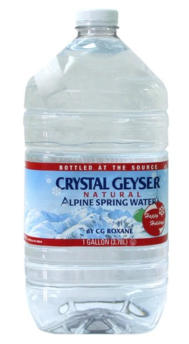 Big is crystal geyser water bad for you