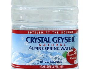 Thumb is crystal geyser water bad for you