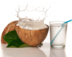 Thumb is coconut water bad for you
