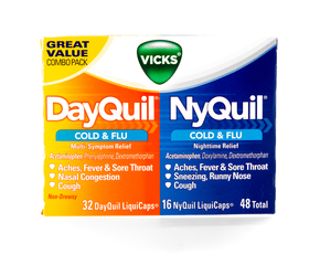 Thumb is nyquil bad for you
