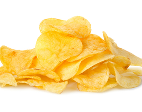 Thumb are potato chips bad for you