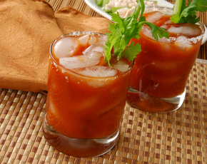 Thumb are bloody marys bad for you.