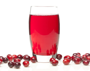 Thumb is cranberry juice bad for you