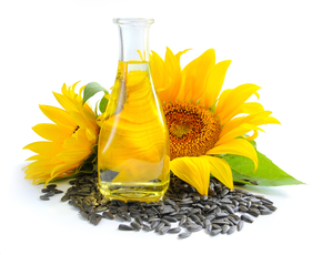 Thumb is sunflower oil bad for you.