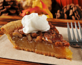 Thumb is pecan pie bad for you.