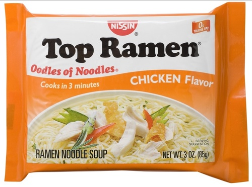 Big is top ramen bad for you