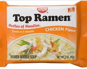 Thumb is top ramen bad for you