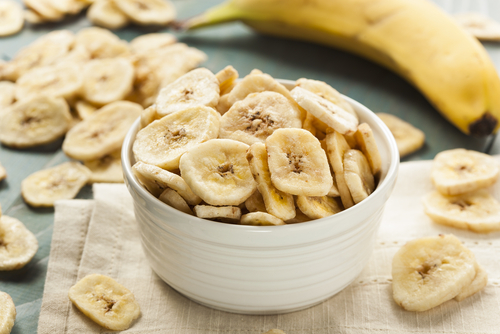 Big are banana chips bad for you