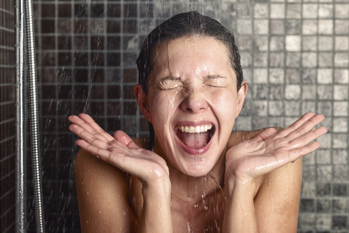 Big are cold showers bad for you