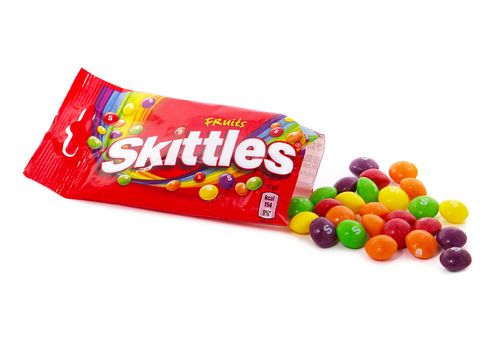 Big are skittles bad for you