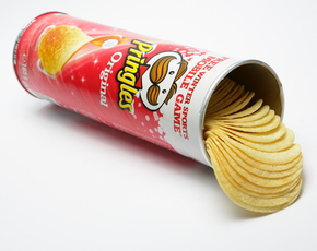 Thumb are pringles bad for you
