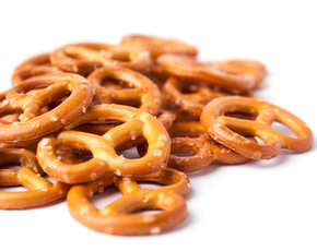 Thumb are pretzels bad for you