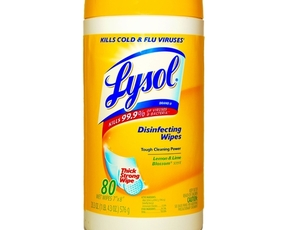 Thumb is lysol bad for you