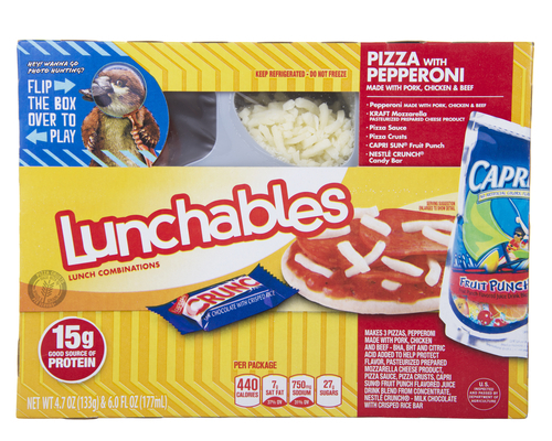 Big are lunchables bad for you.