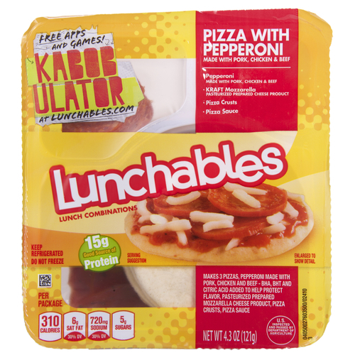 Big are lunchables bad for you