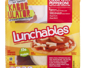Thumb are lunchables bad for you