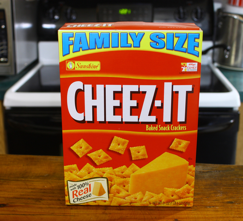 Big are cheez its bad for you.