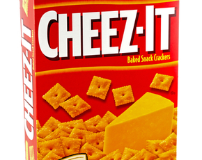 Thumb are cheez its bad for you
