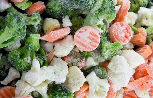 Big are frozen vegetables bad for you
