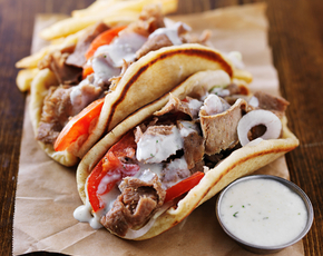 Thumb are gyros bad for you.