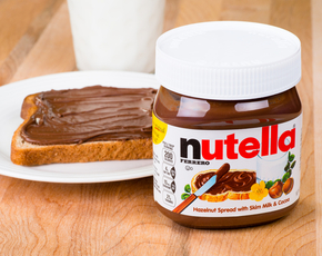 Thumb is nutella bad for you
