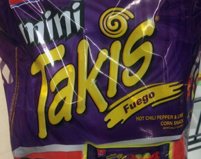 Thumb are takis bad for you