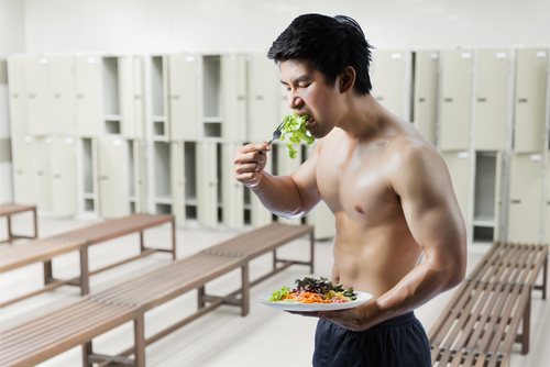 Big is working out before eating bad for you