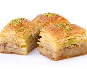 Thumb is baklava bad for you