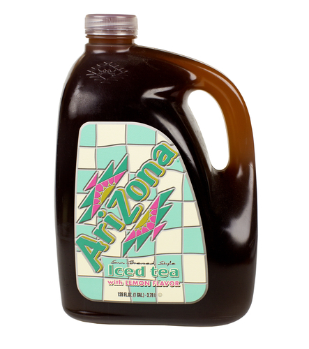 Big is arizona ice tea bad for you
