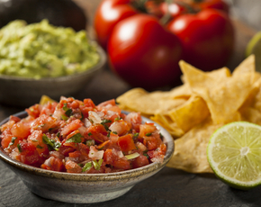 Thumb is pico de gallo bad for you.
