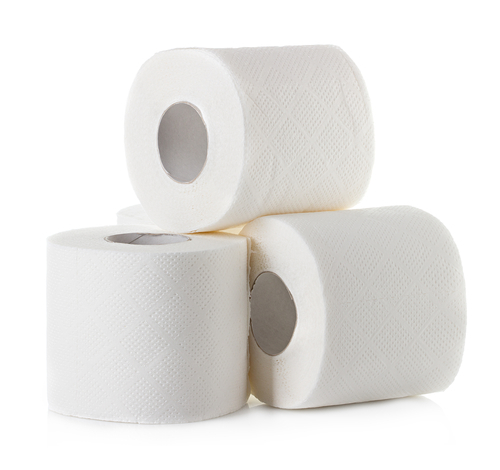 Big is toilet paper bad for you