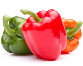 Thumb are bell peppers bad for you.